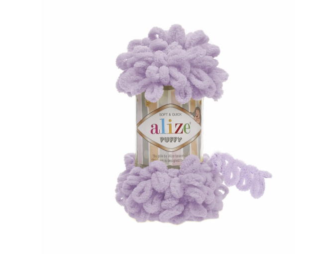Alize Puffy, 100% Micropolyester 5 Skein Value Pack, 500g фото 7
