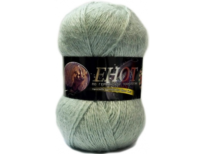 Color City Raccoon 60% Lambswool, 20% Raccoon Wool, 20% Acrylic, 10 Skein Value Pack, 1000g фото 10