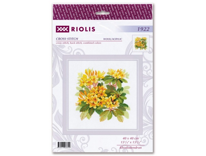 Rhododendron Cross Stitch Kit фото 2