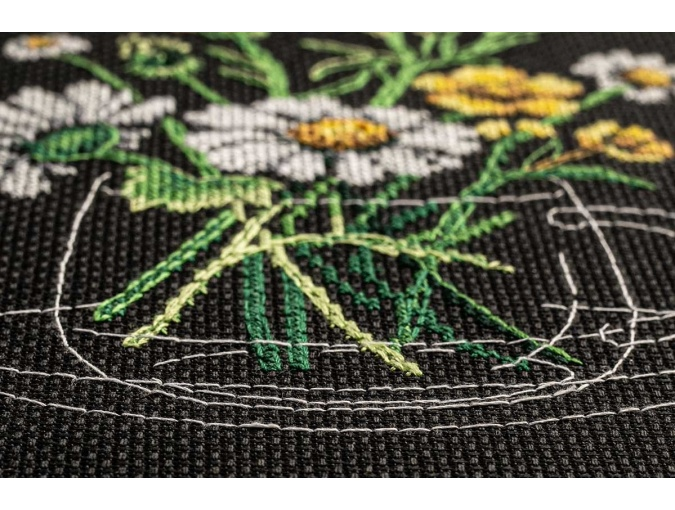 Chamomile Tea Cross Stitch Kit фото 6