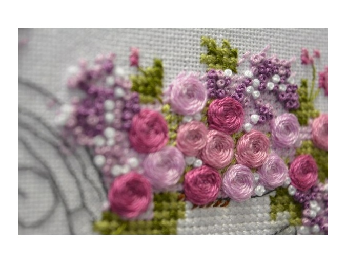 Flower Bike Cross Stitch Pattern фото 4