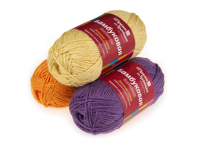 Troitsk Wool Bamboo, 100% bamboo fiber, 10 Skein Value Pack, 500g фото 1