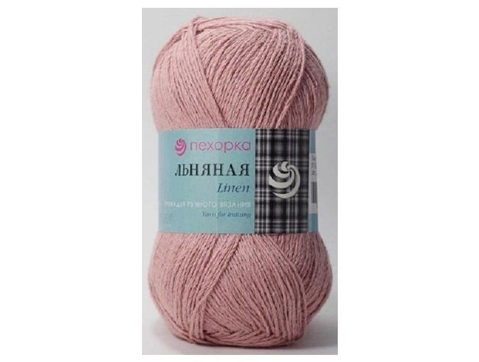 Pekhorka Linen, 55% Linen, 45% Cotton, 5 Skein Value Pack, 500g фото 6