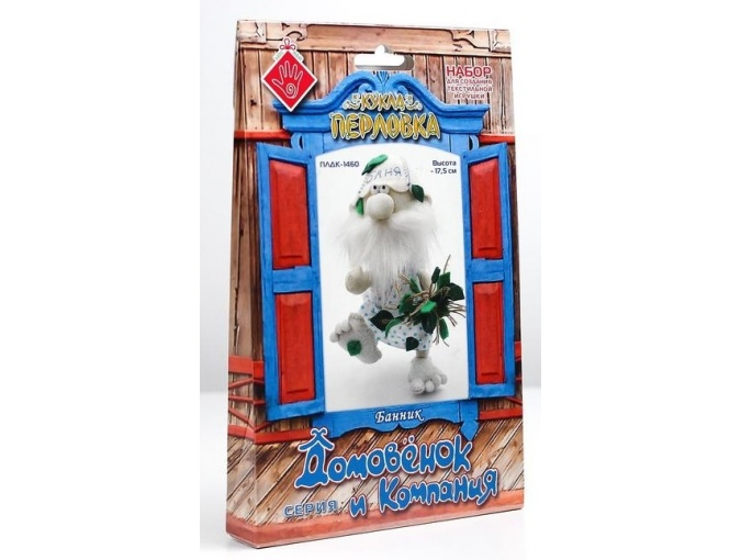 Bathhouse Brownie Toy Sewing Kit фото 4