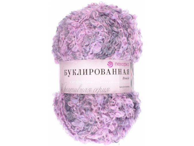 Pekhorka Boucle, 30% Mohair, 20% Wool, 50% Acrylic, 5 Skein Value Pack, 1000g фото 26