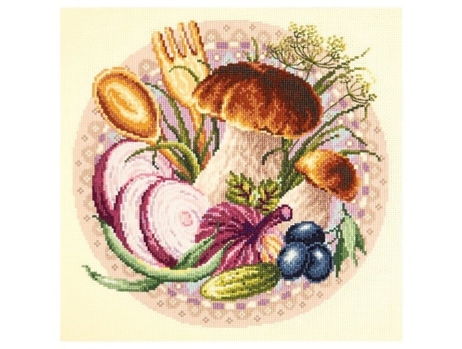 Favorite Snacks Cross Stitch Kit фото 1