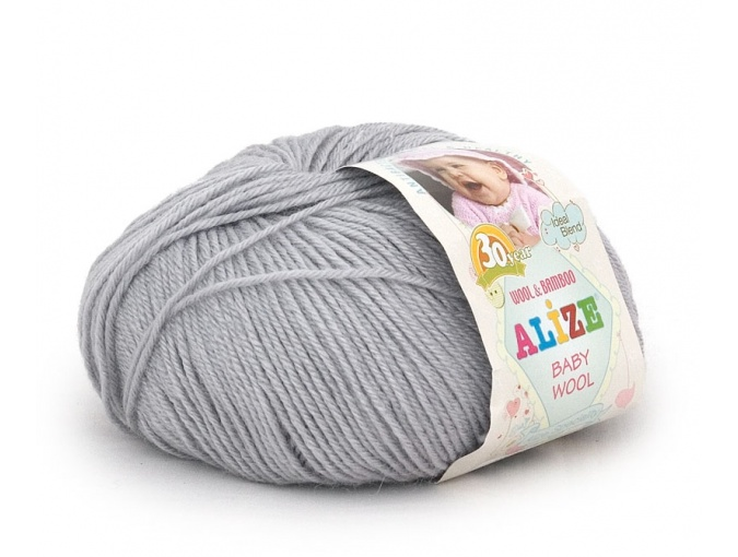 Alize Baby Wool, 40% wool, 20% bamboo, 40% acrylic 10 Skein Value Pack, 500g фото 8