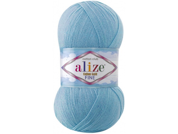 Alize Cotton Gold Fine 55% cotton, 45% acrylic 5 Skein Value Pack, 500g фото 21