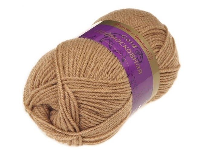 Troitsk Wool Countryside Gold, 50% wool, 50% acrylic 5 Skein Value Pack, 500g фото 19