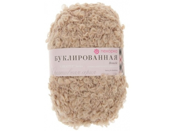 Pekhorka Boucle, 30% Mohair, 20% Wool, 50% Acrylic, 5 Skein Value Pack, 1000g фото 4