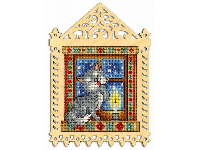 Winter Evening Embroidery Kit фото 1