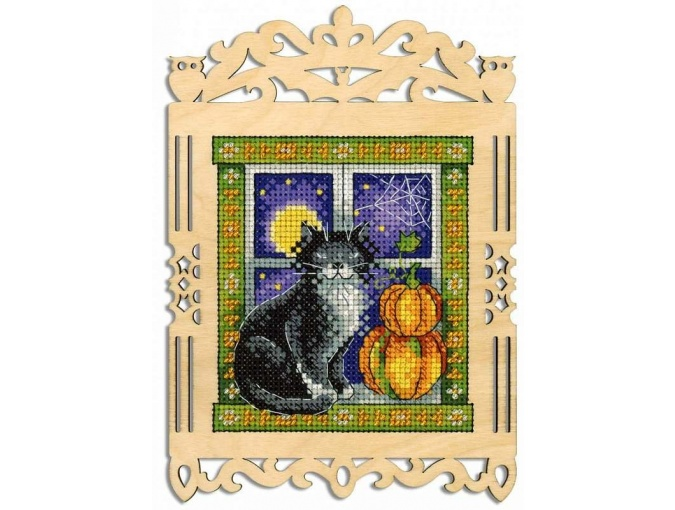 Fluffy Watchman Embroidery Kit фото 1