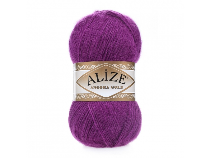 Alize Angora Gold, 10% Mohair, 10% Wool, 80% Acrylic 5 Skein Value Pack, 500g фото 13