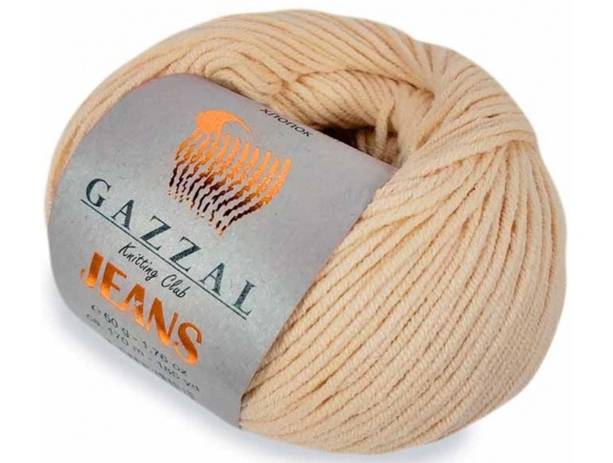 Gazzal Jeans, 58% Cotton, 42% Acrylic 10 Skein Value Pack, 500g фото 14