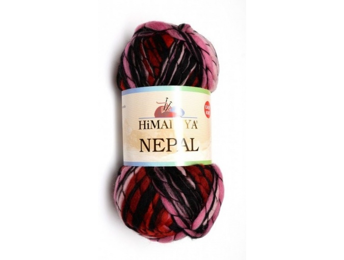 Himalaya Nepal 48% wool, 52% acrylic, 3 Skein Value Pack, 600g фото 1