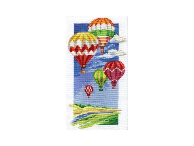 Air Balloons Cross Stitch Kit фото 1