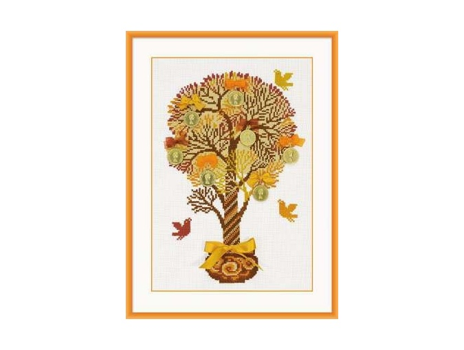Tree of Money Cross Stitch Kit фото 1