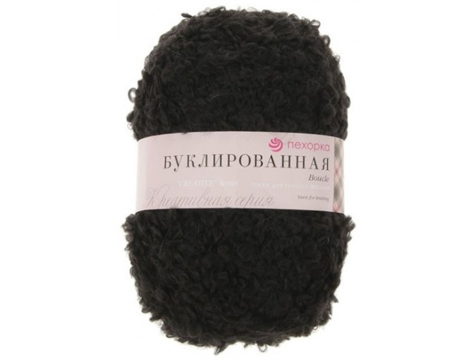 Pekhorka Boucle, 30% Mohair, 20% Wool, 50% Acrylic, 5 Skein Value Pack, 1000g фото 3