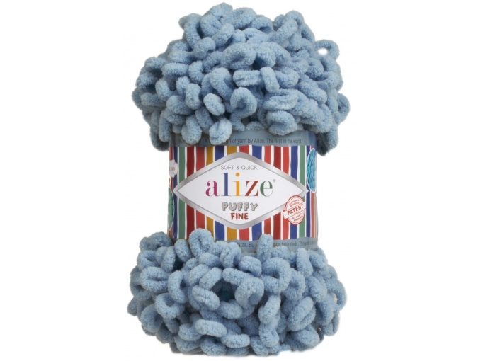 Alize Puffy Fine, 100% Micropolyester 5 Skein Value Pack, 500g фото 19