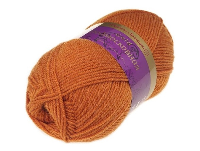 Troitsk Wool Countryside Gold, 50% wool, 50% acrylic 5 Skein Value Pack, 500g фото 14