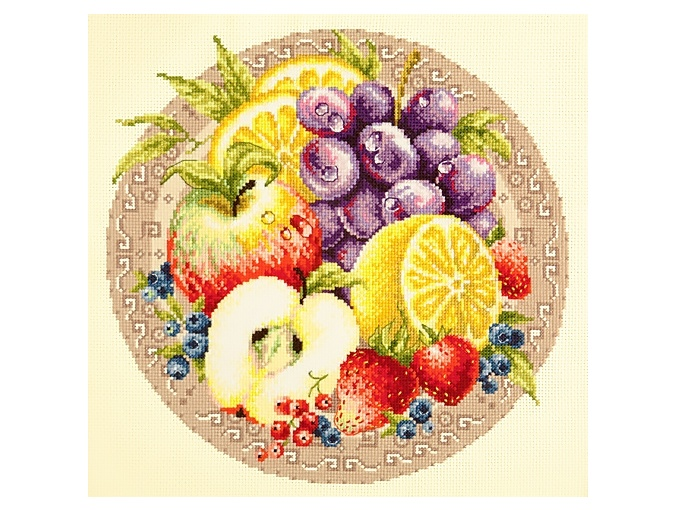 Fruits Cross Stitch Kit фото 1