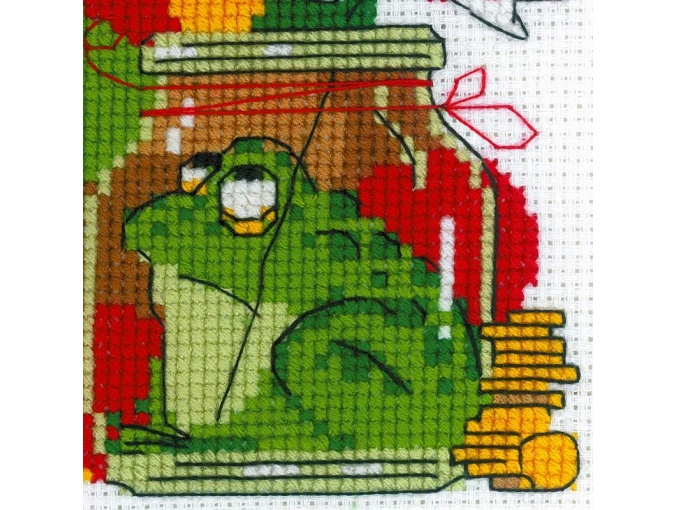 Hamster and Toad Cross Stitch Kit фото 3