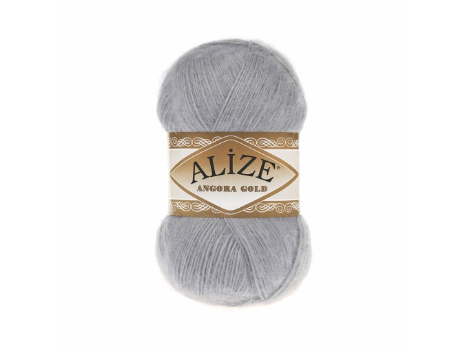 Alize Angora Gold, 10% Mohair, 10% Wool, 80% Acrylic 5 Skein Value Pack, 500g фото 52