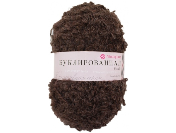 Pekhorka Boucle, 30% Mohair, 20% Wool, 50% Acrylic, 5 Skein Value Pack, 1000g фото 18