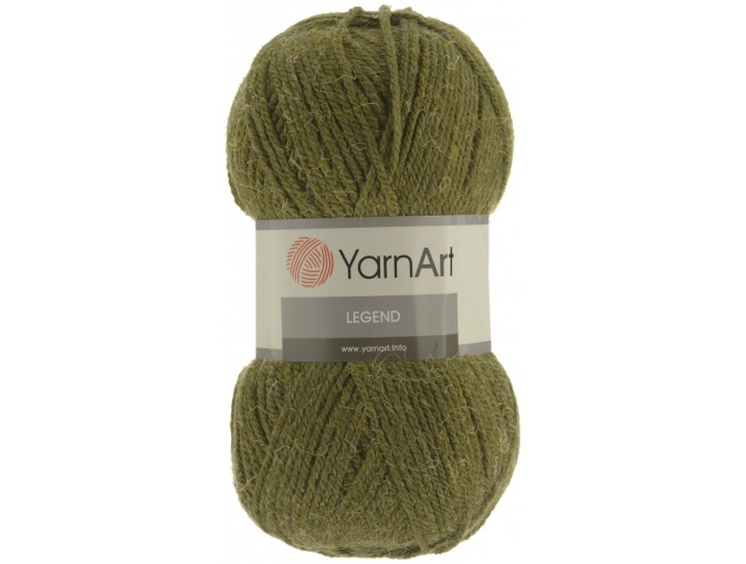 YarnArt Legend 25% Wool, 65% Acrylic, 10% Viscose, 5 Skein Value Pack, 500g фото 5