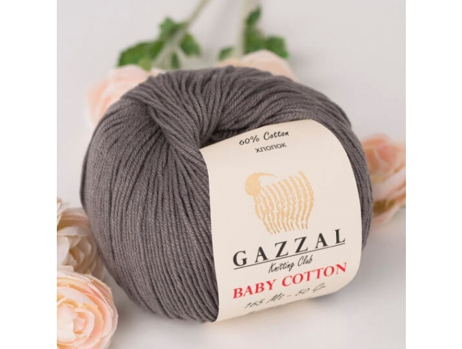 Gazzal Baby Cotton, 60% Cotton, 40% Acrylic 10 Skein Value Pack, 500g фото 82
