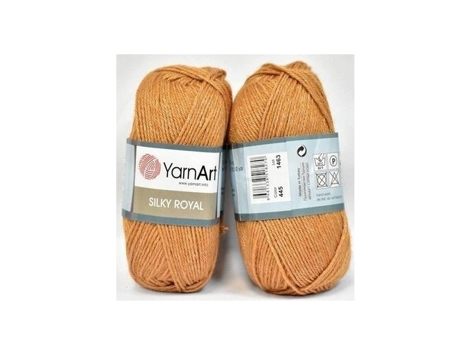 YarnArt Silky Royal 35% Silk Rayon, 65% Merino Wool, 5 Skein Value Pack, 250g фото 32