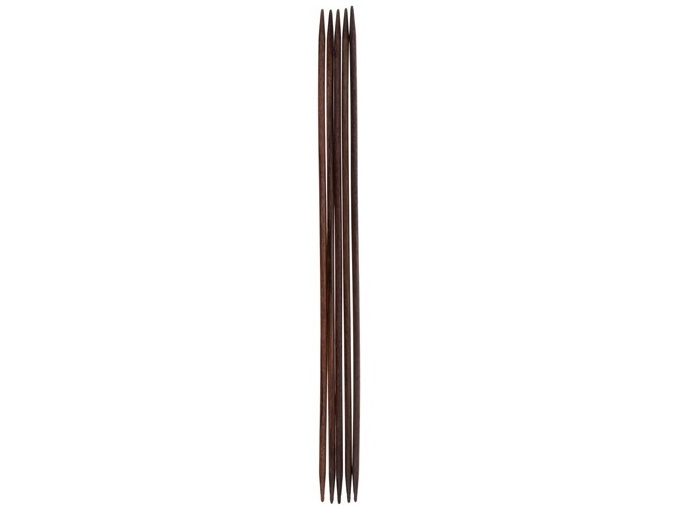 Double-pointed knitting needles, 3,00 mm/ 20 cm, rosewood фото 1