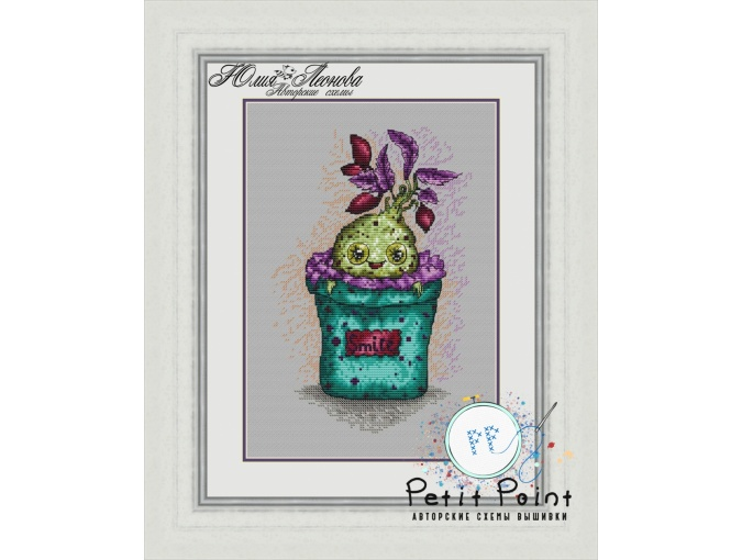 Mandrake Cutie Cross Stitch Pattern фото 1