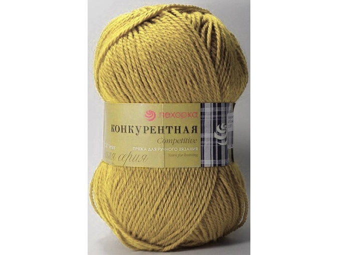 Pekhorka Competitive, 50% Wool, 50% Acrylic 10 Skein Value Pack, 1000g фото 9
