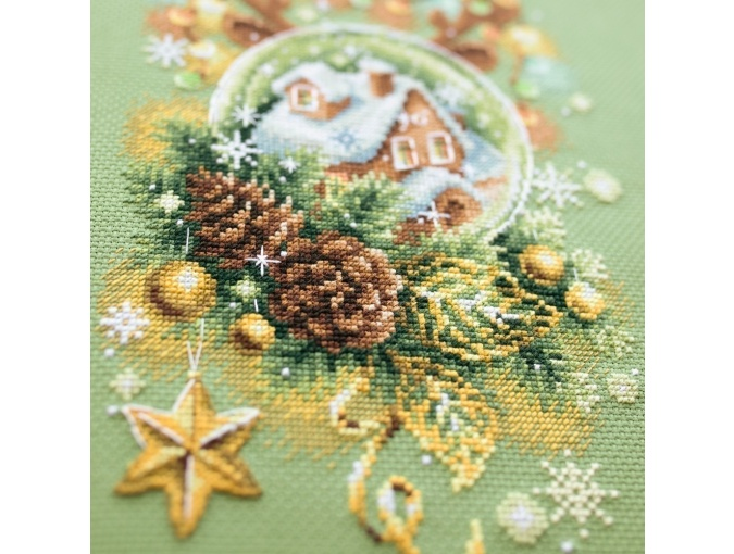 Light Christmas Cross Stitch Kit фото 4