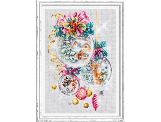 A Christmas Fairy Tail Cross Stitch Kit фото 1