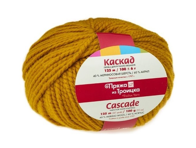 Troitsk Wool Cascade, 40% wool, 60% acrylic 10 Skein Value Pack, 1000g фото 25