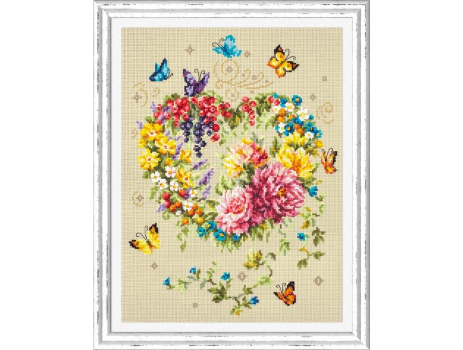 Tenderness of Your Heart Cross Stitch Kit фото 1