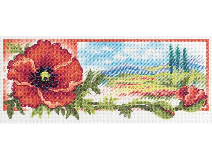 The Red Hue of Dawn Cross Stitch Kit фото 1