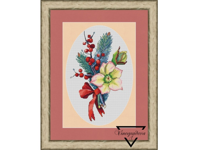 The Scent of Winter Cross Stitch Pattern фото 1