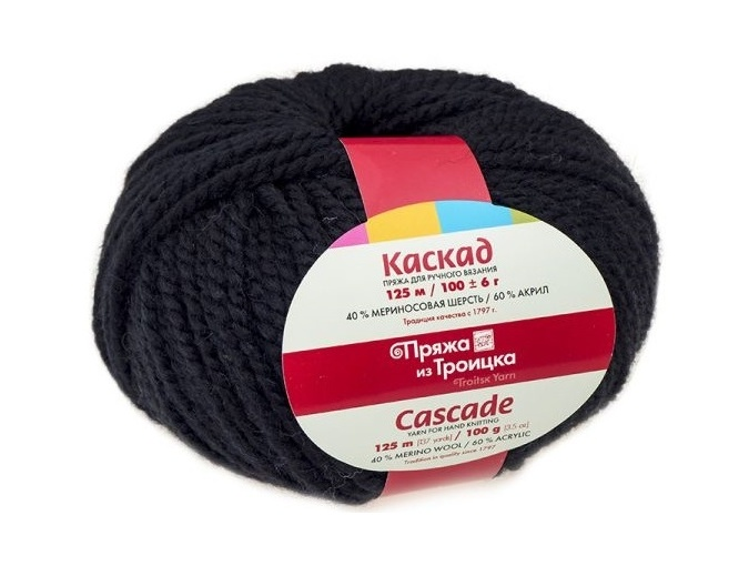 Troitsk Wool Cascade, 40% wool, 60% acrylic 10 Skein Value Pack, 1000g фото 4