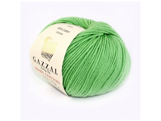 Gazzal Baby Cotton, 60% Cotton, 40% Acrylic 10 Skein Value Pack, 500g фото 1