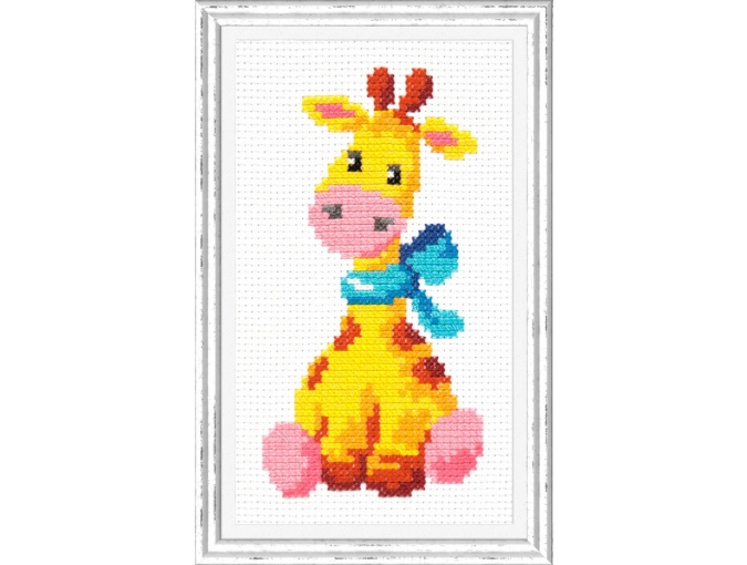 Giraffe Cross Stitch Kit фото 1