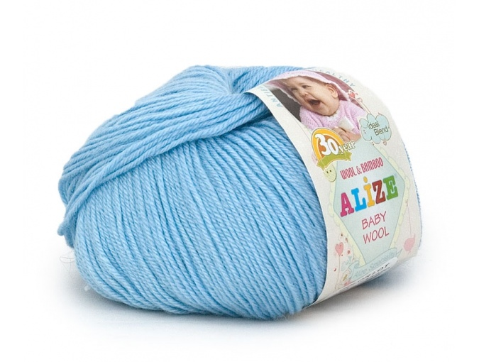 Alize Baby Wool, 40% wool, 20% bamboo, 40% acrylic 10 Skein Value Pack, 500g фото 34