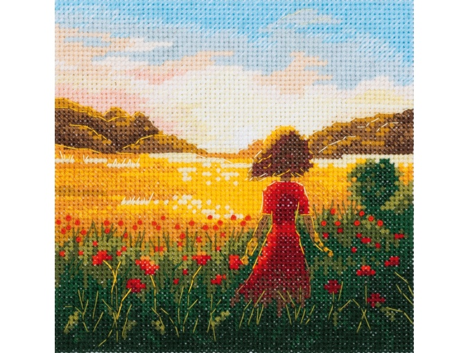 The Last Summer Day Cross Stitch Kit фото 1