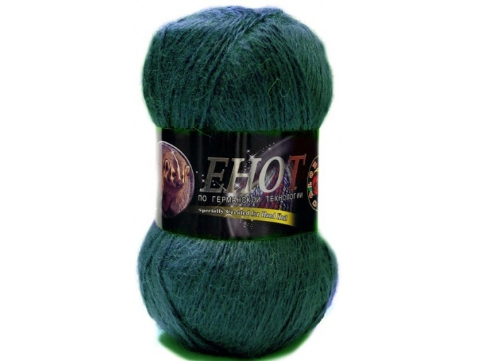 Color City Raccoon 60% Lambswool, 20% Raccoon Wool, 20% Acrylic, 10 Skein Value Pack, 1000g фото 20