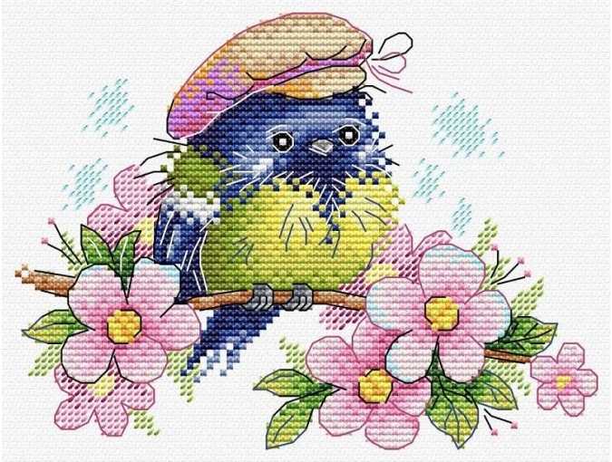 The Enchanted Wanderer Cross Stitch Kit фото 1