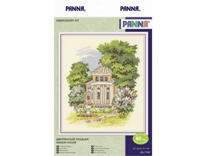 Manor House Cross Stitch Kit фото 2