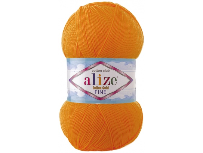 Alize Cotton Gold Fine 55% cotton, 45% acrylic 5 Skein Value Pack, 500g фото 12