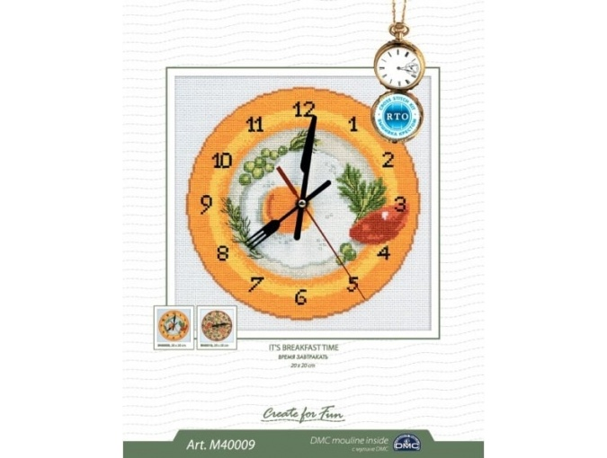 It's Breakfast Time Cross Stitch Kit фото 2
